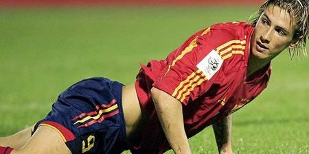Spain soccer team - Fernando Torres