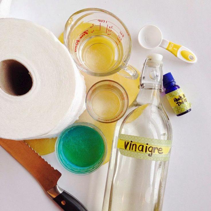 Saviez-vous quu0027on faire soi-même nos propres lingettes nettoyantes