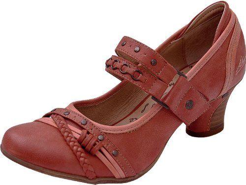 MUSTANG Pumps Rot - Slingpumps - rot , Schuhgröße 36: Amazon.de: Schuhe & Handtaschen