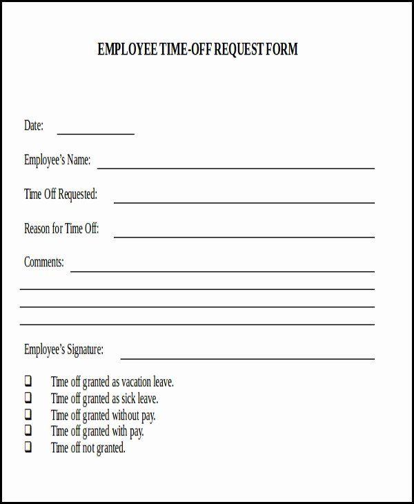Work Request Form Template Fresh 40 Order Form Templates Work Order Change Order More Markmeckler Temp Time Off Request Form Registration Form Sample Words