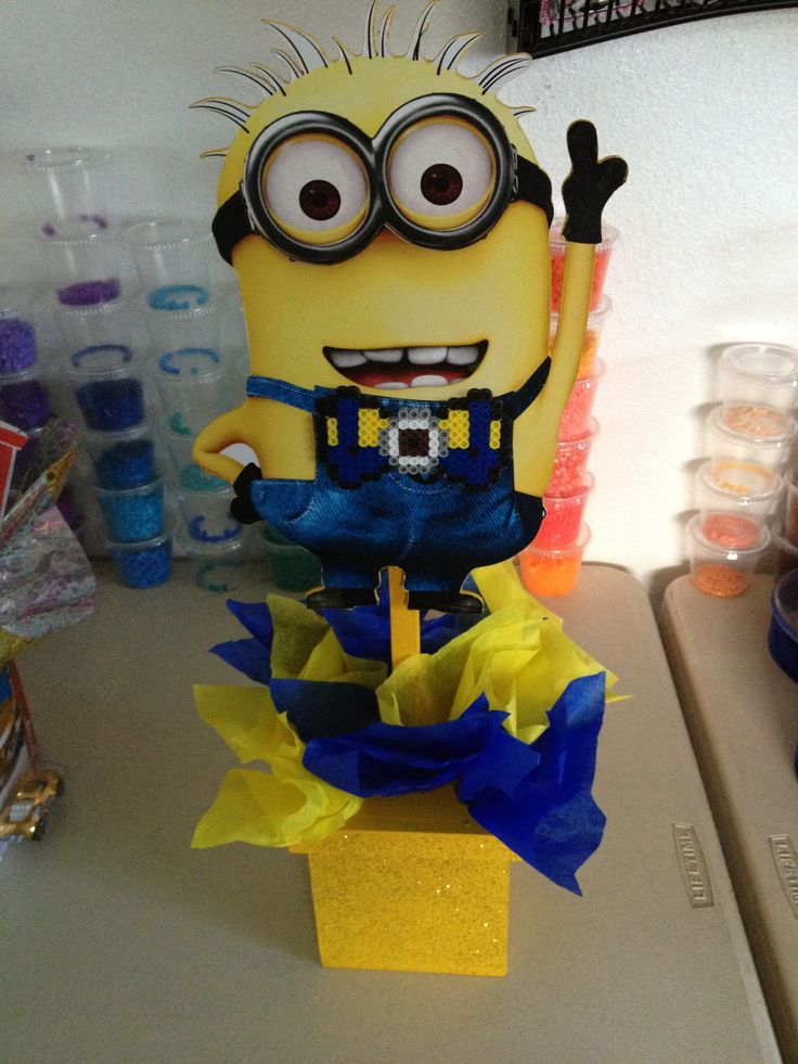 Center pieces and minions on pinterest