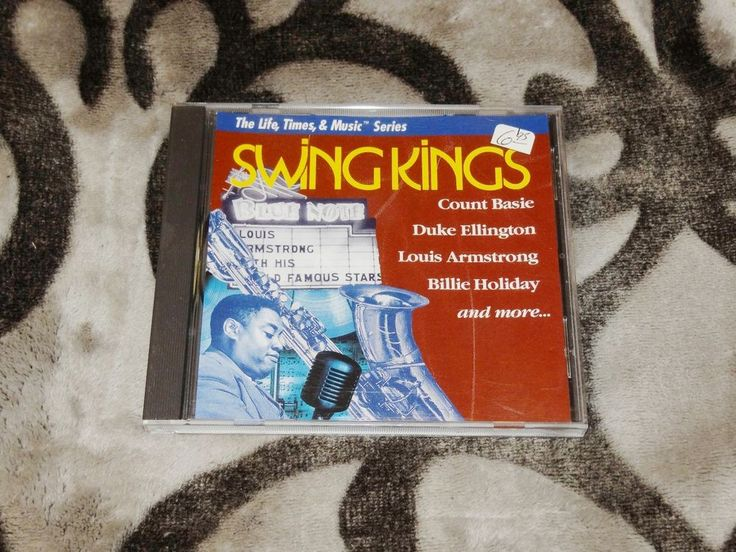 *25-CENT CD* Swing Kings by Various Artists (CD, 1994, Sony Music) AAD A24382