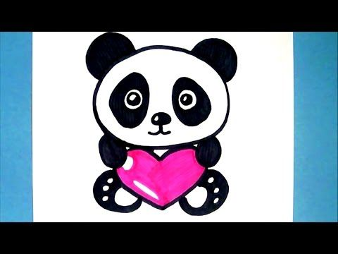 Comment Dessiner Un Panda Kawaii Dessin Facile Youtube Dessin
