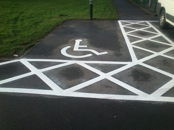 Car Park Painting in Westwood - We offer car park bay painting for outdoor areas using specialist anti slip coatings in a range of vibrant colours and designs.