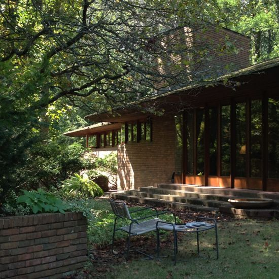 1000 images about flw u palmer on pinterest usonian for Frank lloyd wright palmer house