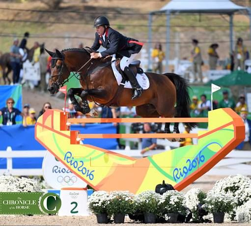 And it's GOLD for Nick Skelton of Great Britain on Big Star!!!! Silver to Peder Fredricson of Sweden on All In and bronze to Eric Lamaze of Canada on Fine Lady 5.