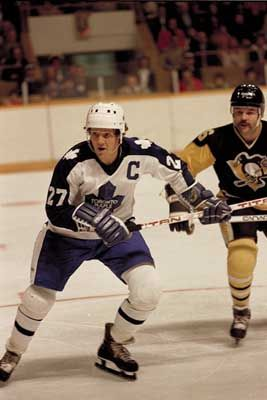 Darryl Sittler, Toronto Maple Leafs. Met him at a Toys R Us event when I was a kid and got his autograph.