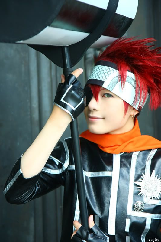 Cosplay D Gray Man Lavi
