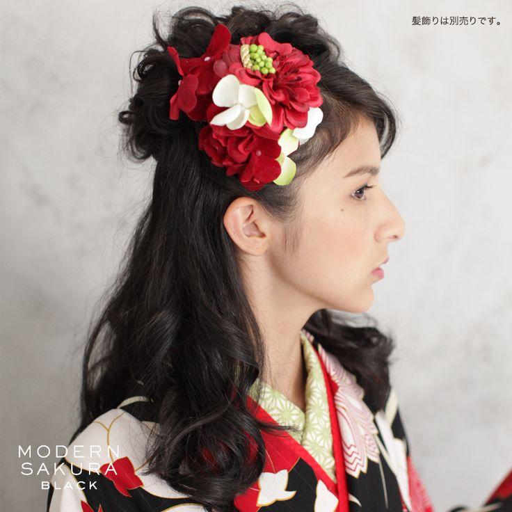 http://mhc-s.jp【卒業式の髪型・ヘアメイク・髪飾り】byモダン袴コレクション★ #袴 #卒業式 #髪型 #ヘアスタイル #ダウンスタイル #ハーフアップ