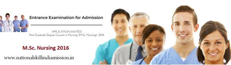 Entrance Examination for Admission to Post Graduate Degree Courses in Nursing (M.Sc. Nursing)- 2016 #Entrance Examination for Admission to Post Graduate Degree Courses in Nursing (M.Sc. Nursing)- 2016 Applications are invited for the Entrance Examination for admission to Post Graduate Degree Courses in Nursing (M.Sc. Nursing) 2016 in the Nursing Colleges at Thiruvananthapuram,Kottayam,Trissur,Alappuzha and Kozhikode and Govt. Seats in Self Financing colleges.