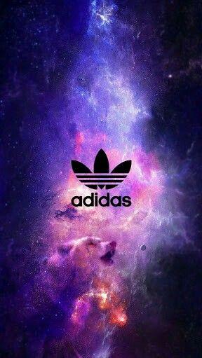 Fundo da Adidas galáctico