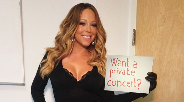 Win A Private Valentine's Day Concert With Mariah Carey - Celebrities Do Good   Celebrities Do Good