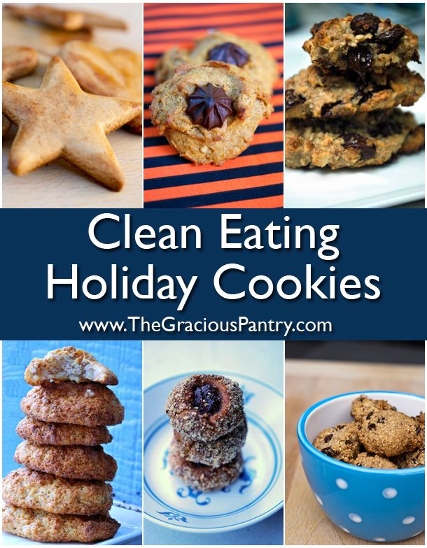 Your one-stop-shop for healthy, holiday cookie recipes!