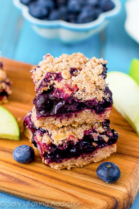 Apple Blueberry Pie Bars Recipe Addiction Easy