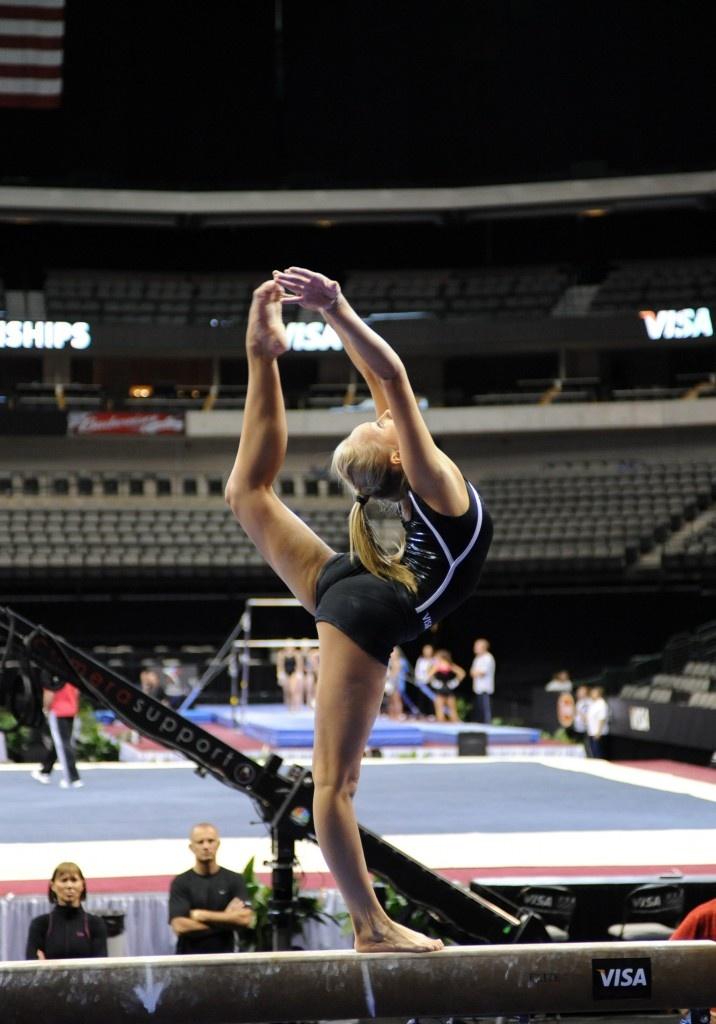 gymnast Nastia Liukin - VISA Championships, Dallas, 08/13/2009 gymnastics and http://harshlines.tumblr.com/post/18093065145  #KyFun