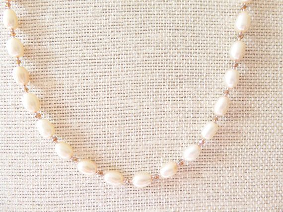 Freshwater Cultured pearl necklace set Pearl necklace
