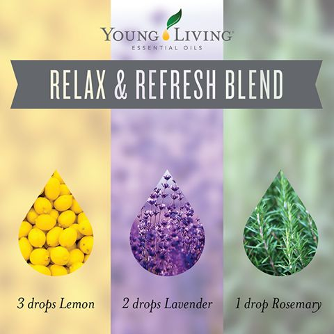 Young Living Essential Oils:  Relax & Refresh Blend | This diffuser blend is simple, light, and refreshing!  WWW.THESAVVYOILER.COM