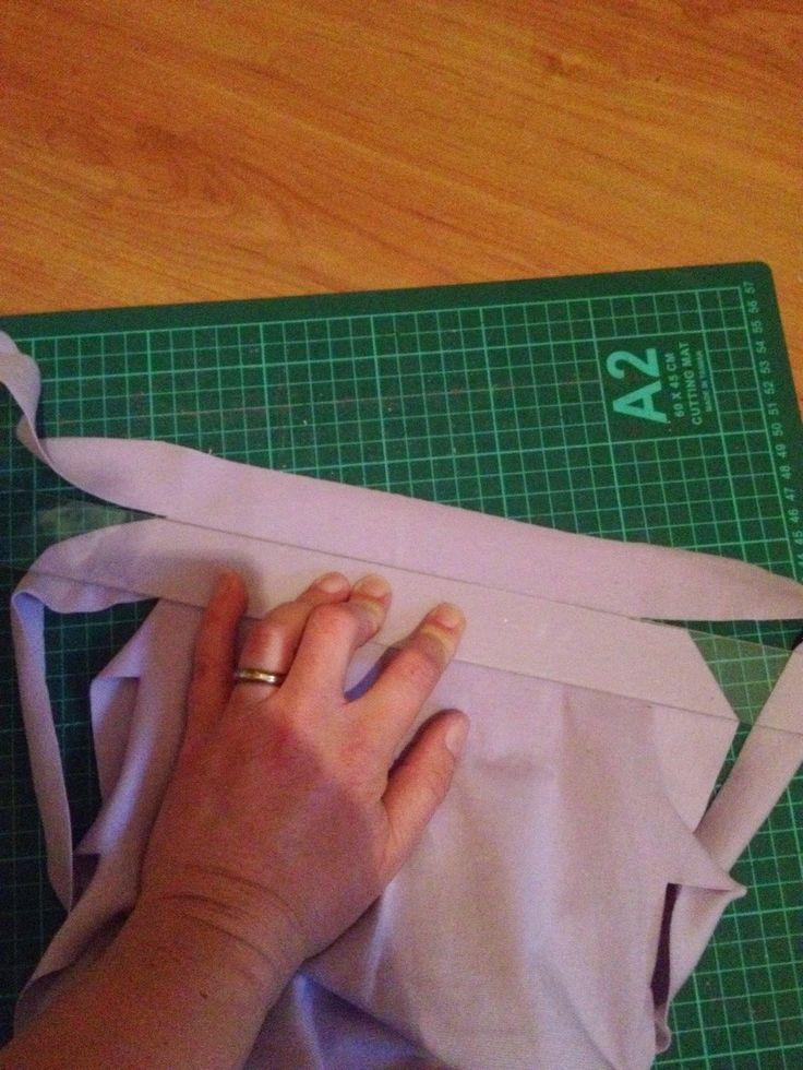 Tutorial: att skära långa kantband.