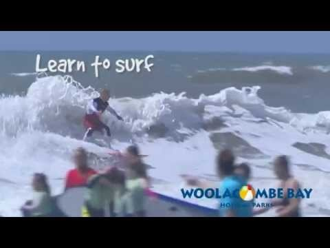 Surfing in Devon, from Woolacombe Bay Holiday Parks