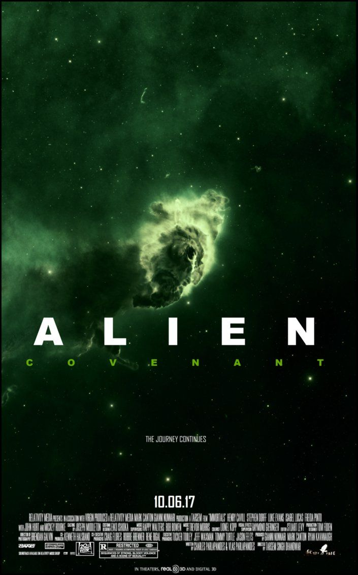 Awesome Retro-Style Alien: Covenant Fan Posters! - Alien: Covenant Movie News