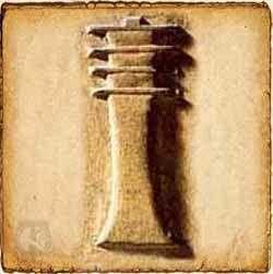 El Pilar Djed, simbolizaba el paso del flujo vital, aliento de vida, la estabilidad y la dureza a través de la columna vertebral del dios Osiris. Aparece normalmente acompañado de otros símbolos, como el Cetro Uas, el látigo, los cuernos de Amón o la serpiente de fuego.