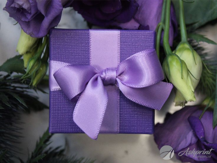 For all of those who are planning a wedding with a splash of purple... #ribbon #satin #purple #purpleribbon #purplesatinribbon #box #purplebox #presents #gift #bride #groom #guests #couple #occasion #engagement #celebrations #wedding #weddings #love #marriage #congratulations #flower #weddingplanner #weddingtime #weddingdecor #weddingday #purpleflower #london #ashprintlondon