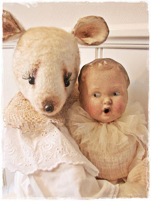 Antique Doll.