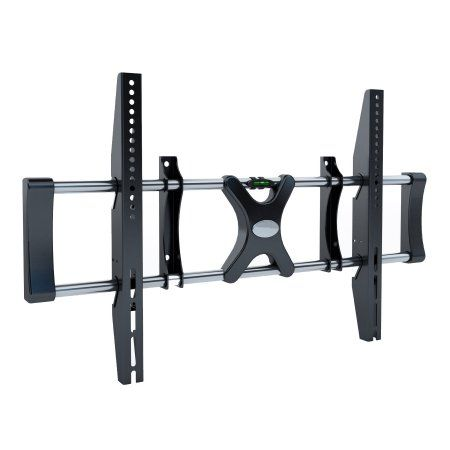 CorLiving Fixed Flat Panel Wall Mount for 36 inch - 55 inch TVs, Black