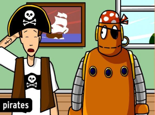 L'histoire des pirates, par Zach 8 ans