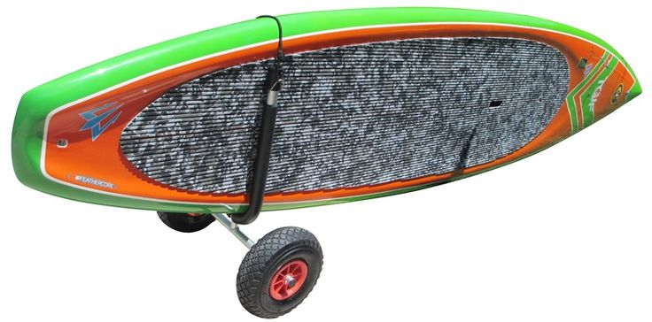 The NEW COR Paddle Board Cart now in two sizes! #SUP