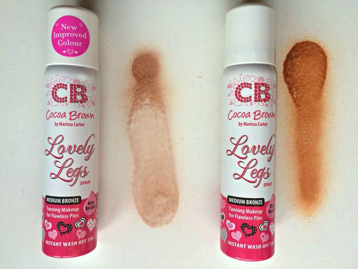 Cocoa Brown Lovely Legs tan spray