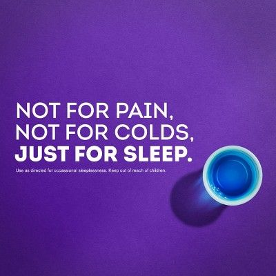 ZzzQuil Nighttime Sleep-Aid Liquid - Mango Berry - 12 fl oz/2pk