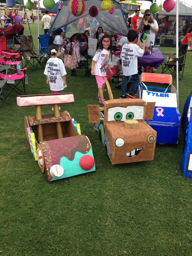 10 Ideas About Cardboard Box Cars On Pinterest: New Stuff///Make It Your Self