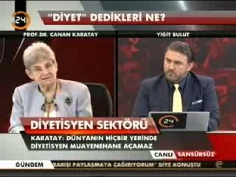 Prof. Dr. Canan Karatay kolesterol hapları, yağlar, diyetler, obezite üz...