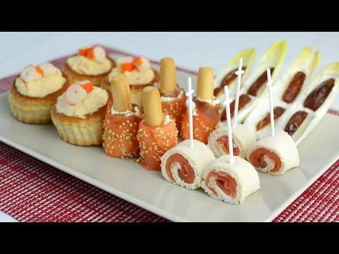 CANAPES FACILES - YouTube