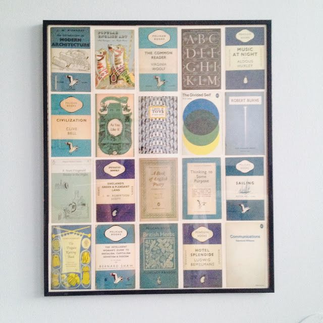 Vintage Penguin Book Cover Postcards : Best postcard collage images on pinterest home ideas
