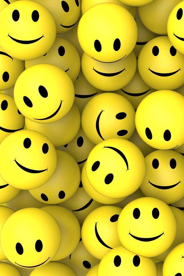 3d Smileys Smileys Smile Iphone Wallpaper In 2020 3d Wallpaper For Mobile Happy Wallpaper Emoji Wallpaper