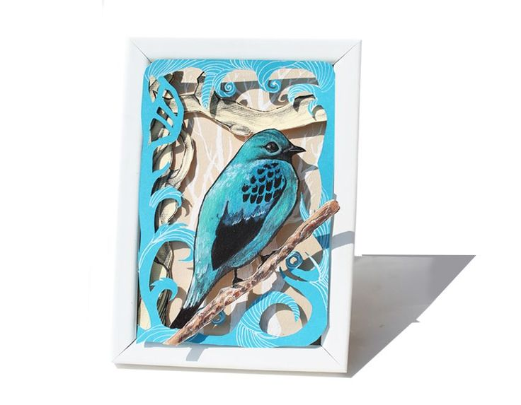 blue Bird via Blue Pencil. Click on the image to see more!
