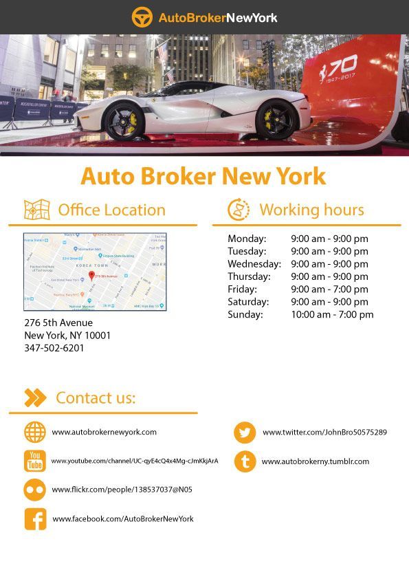 Auto Broker New York Offers A Comprehensive Variety Of Auto Leasing Services To Our Friends And Neighbors Around Nyc We U Car Lease Lease Specials Lease Deals