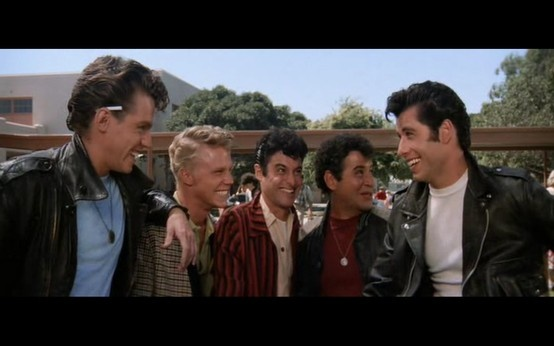 who were the t birds in grease