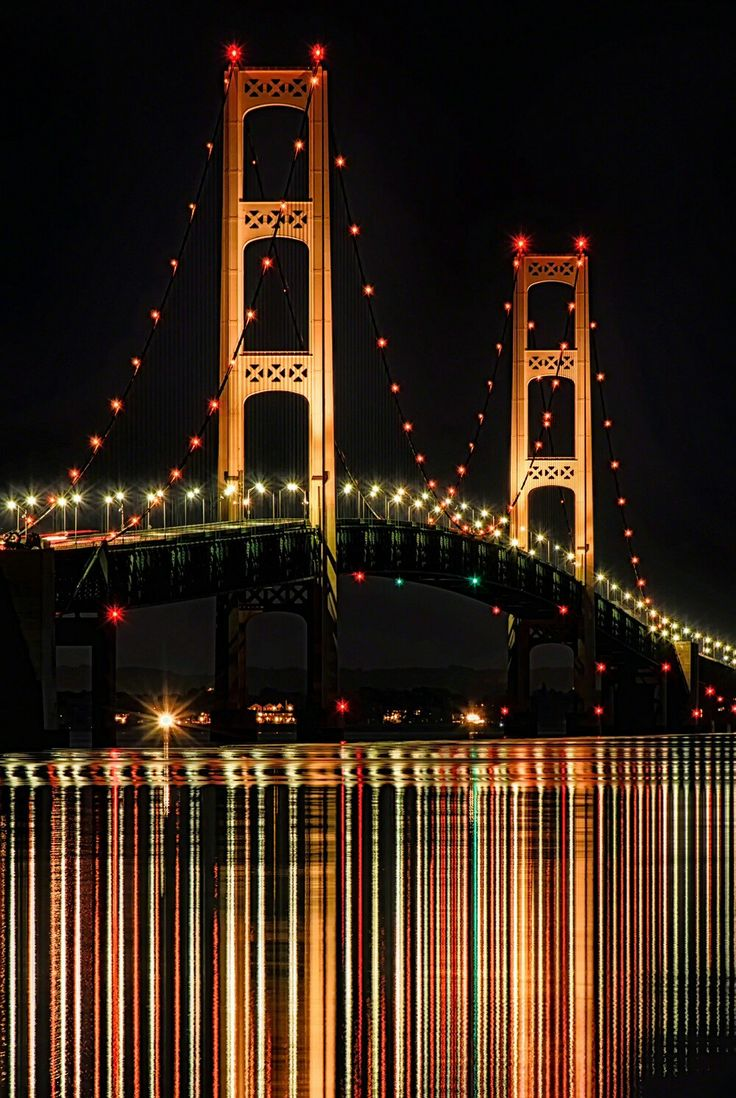 Mackinac bridge.