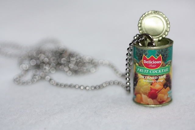 Fruit cocktail pendant by Pinkkisfun, via Flickr