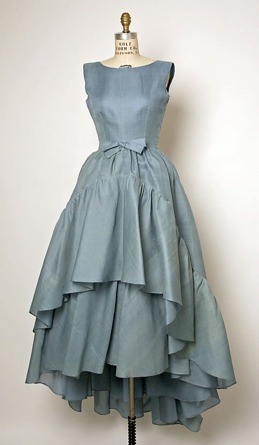 Cristobal Balenciaga/Rene Mancini dress, 1961