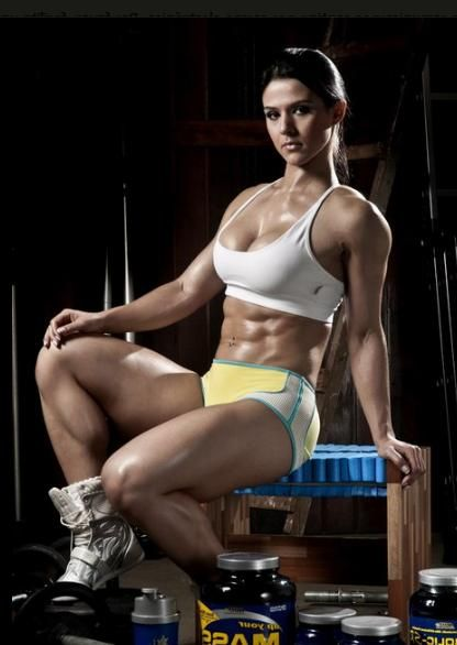 latina woman muscle - photo#3
