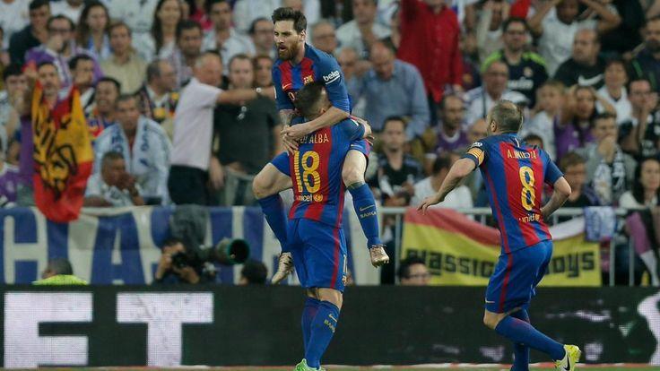 Real Madrid struck first in #ElClasico, but #Barcelona have #Lionel #Messi. #RealMadrid #LionelMessi #soccermatch #soccerstats #soccergoals #goal #FCbarca