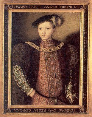 Edward VI, only surviving legitimate son of Henry VIII. This was the long sought after son that Henry VIII changed the course of history for. Edward's mother was Henry's third wife, Jane Seymour. She died two weeks after Edward's birth. Edward became king at the age of nine, and died at the age of sixteen.: Edward Mothers, Edward Births, Legitim Sons, Jane Seymour, Henry Third, King Henry Viii, Edward Vi, The, Viii Changing