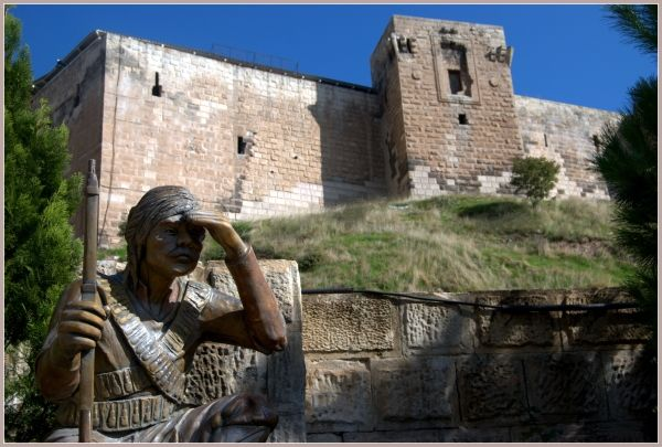 Gaziantep castle  - The city used to be called antep but Gazi was added in 1921 in remembrance of veterans during the Turkish war of independence
