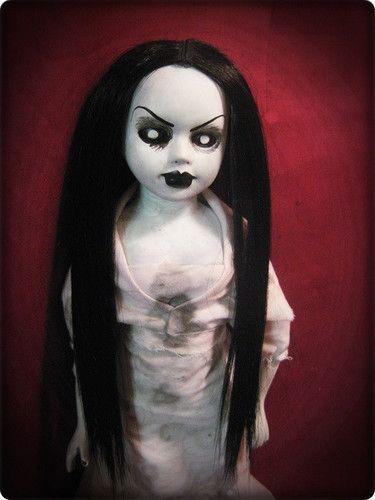 Creepy gothic horror doll dolls ebay id bastet2329 for Creepy gothic pictures