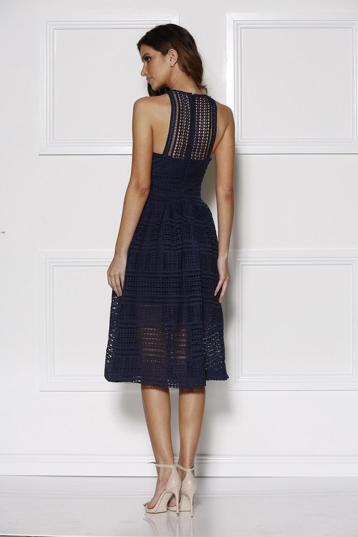Grace and Hart Allure Floaty Dress Navy find it and other fashion trends. Online shopping for Grace and Hart clothing. A beautiful cocktail length lace...