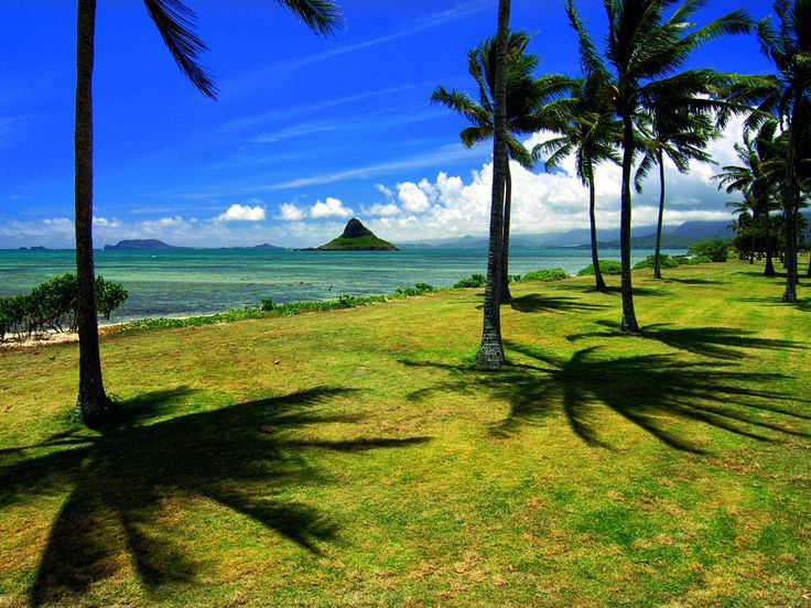 Chinaman's Hat is a cool park to visit while on Oahu